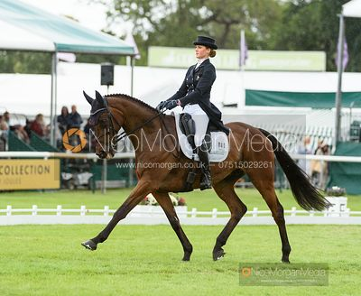 Clara Loiseau and WONT WAIT - Dressage - Land Rover Burghley Horse Trials 2019