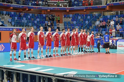 POLAND vs ARGENTINA - VNL / Volleyball Nations League 2019 Men's - Pool 14, Week 4.