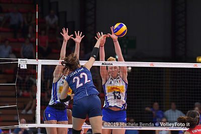 ITALY vs KOREA - VNL / Volleyball Nations League 2019 Women's - Pool 13, Week 4.
