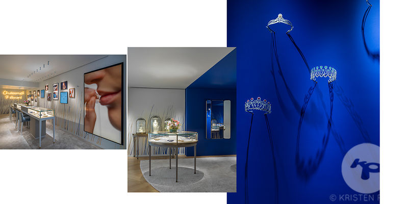 PHOTOGRAPHE BOUTIQUE PARIS : CHAUMET SAINT HONORE PARIS