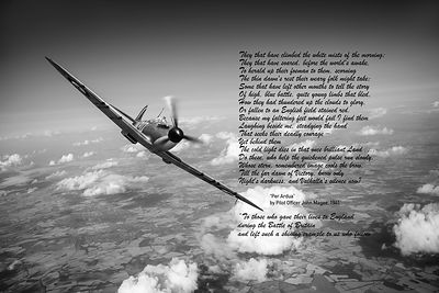 "Battle of Britain Spitfire ""Per Ardua"""