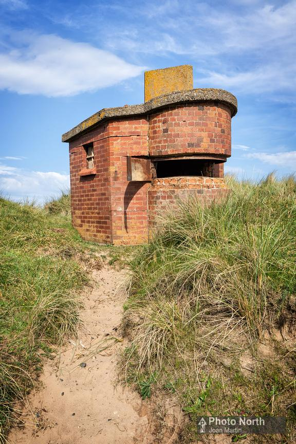 DRIGG 09A - WW11 Gun emplacement, Drigg Beach
