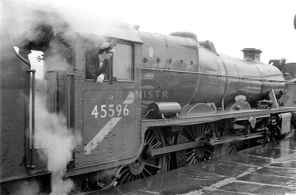 Steam loco Jubilee 45596 Blackburn