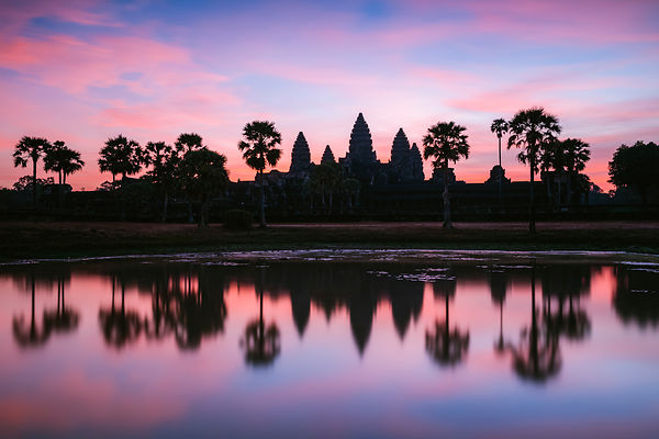 Dawn at Angkor