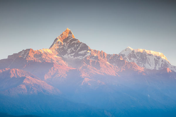 A New Day in the Himalayas