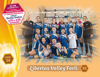 28 dicembre 2019. Foto: per VolleyFoto.it [riferimento file: 2019-12-28/U14-LibertasVolleyForlì]