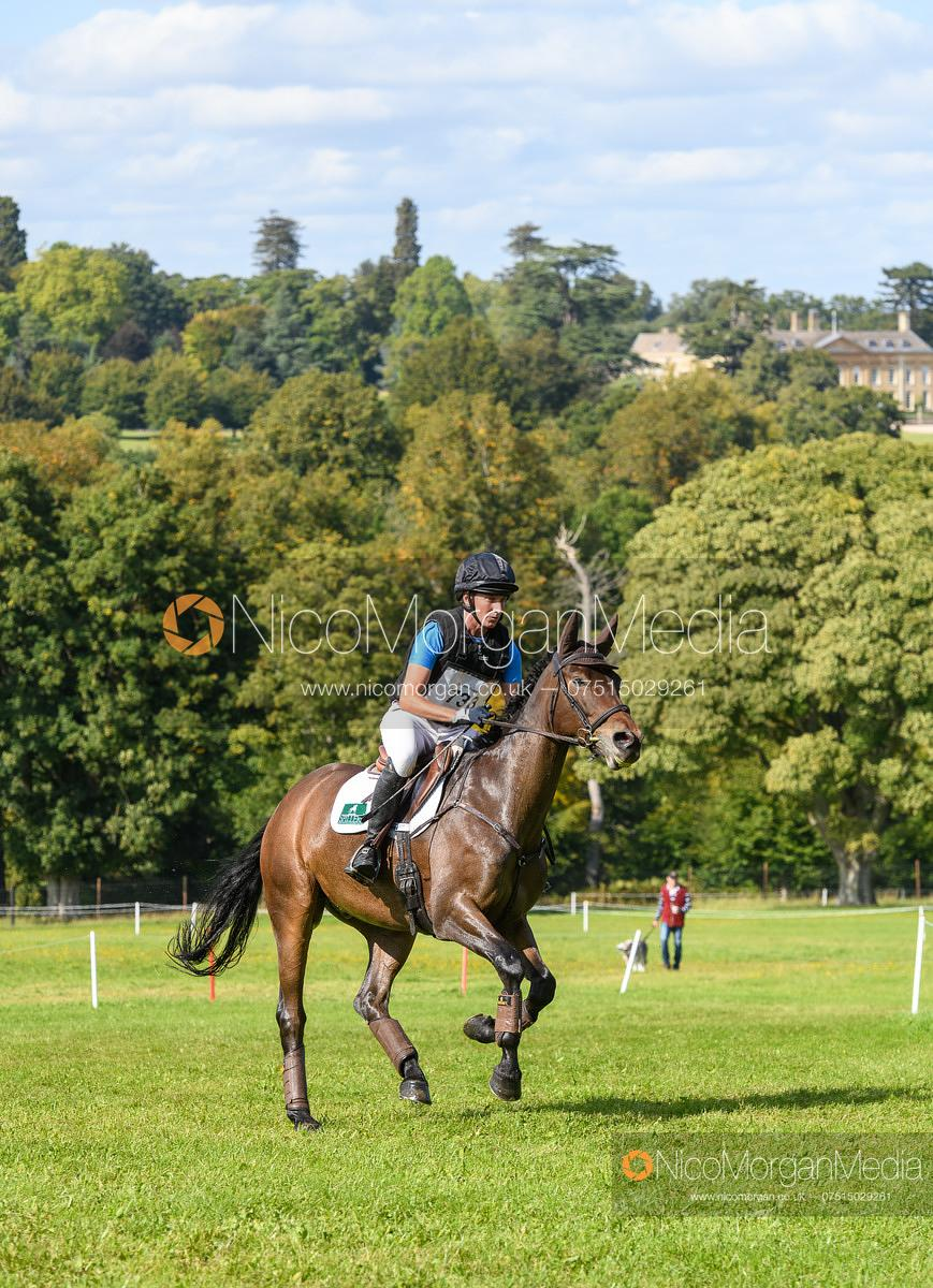 Bruce Haskell and EX CAVALIERS LAW - Cornbury House Horse Trials 2020