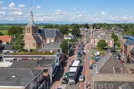 Oldebroek _ Luchtfoto - Centrum