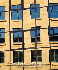 Image - Reflected office block windows, Edinburgh