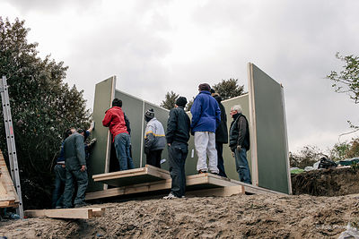 "Calais ""Jungle"" Shelters"