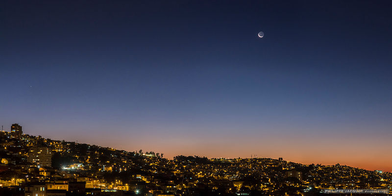 2 days after the eclipse - Valparaiso - Chili