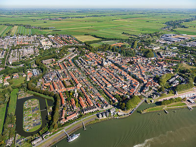 Schoonhoven, a fortified town, was part of the Oude Hollandse Waterlinie (Old Dutch Waterline) from 1672 until its dissolutio...