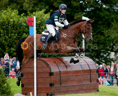 Aaron MIllar and Stormstay at Burghley Horse Trials 2009 - Land Rover Burghley Horse Trials 2009