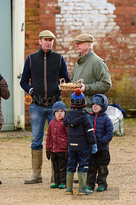 TW, Kavan Brook Shanahan at the meet. The Cottesmore Hunt at Pickwell 31/12