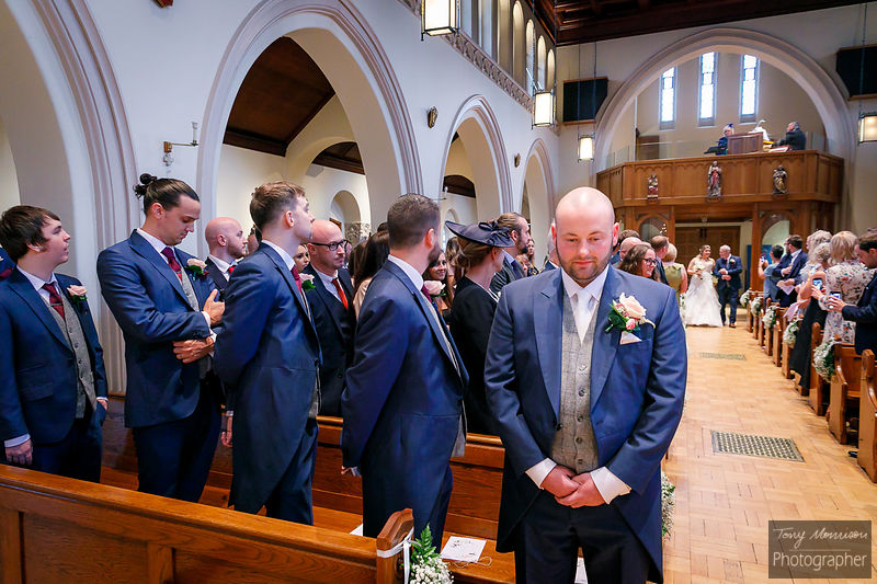 Wedding at Holy Trinity RC Church, Sutton Coldfield and Calderfields Golf Club, Walsall