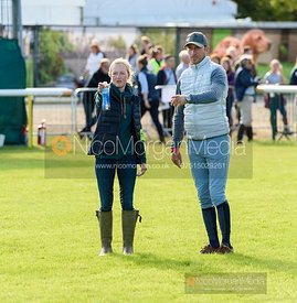 Eliza Stoddart and Tim Price - Land Rover Burghley Horse Trials 2019