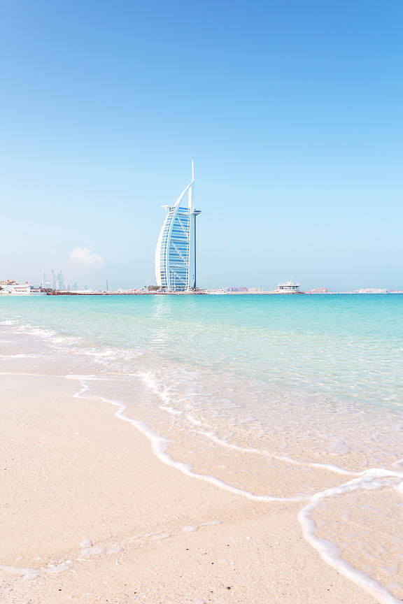 Beach and Burj Al Arab
