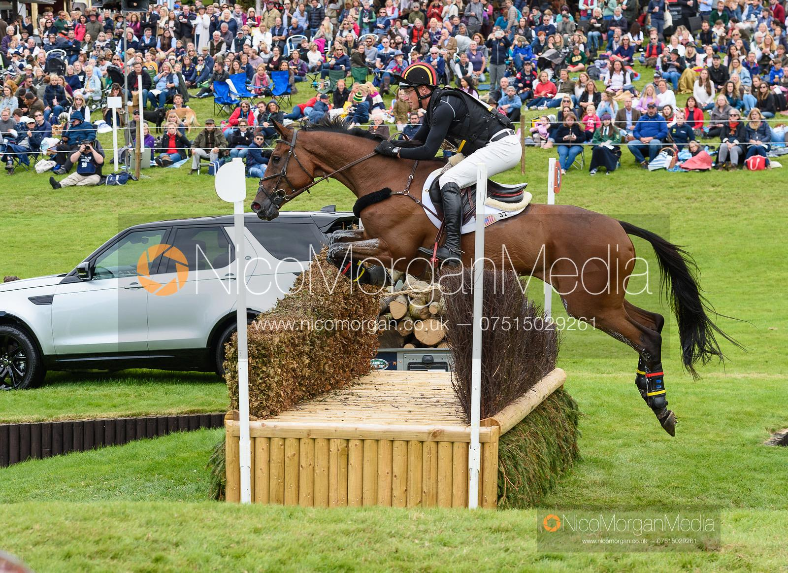 Doug Payne and VANDIVER - Cross Country - Land Rover Burghley Horse Trials 2019