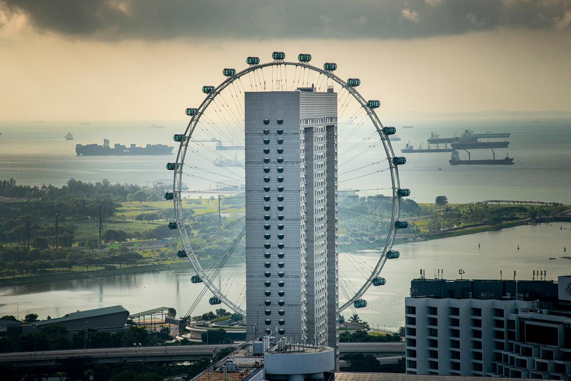 SINGAPORE - a photo series by swiss artist Alexis Reynaud