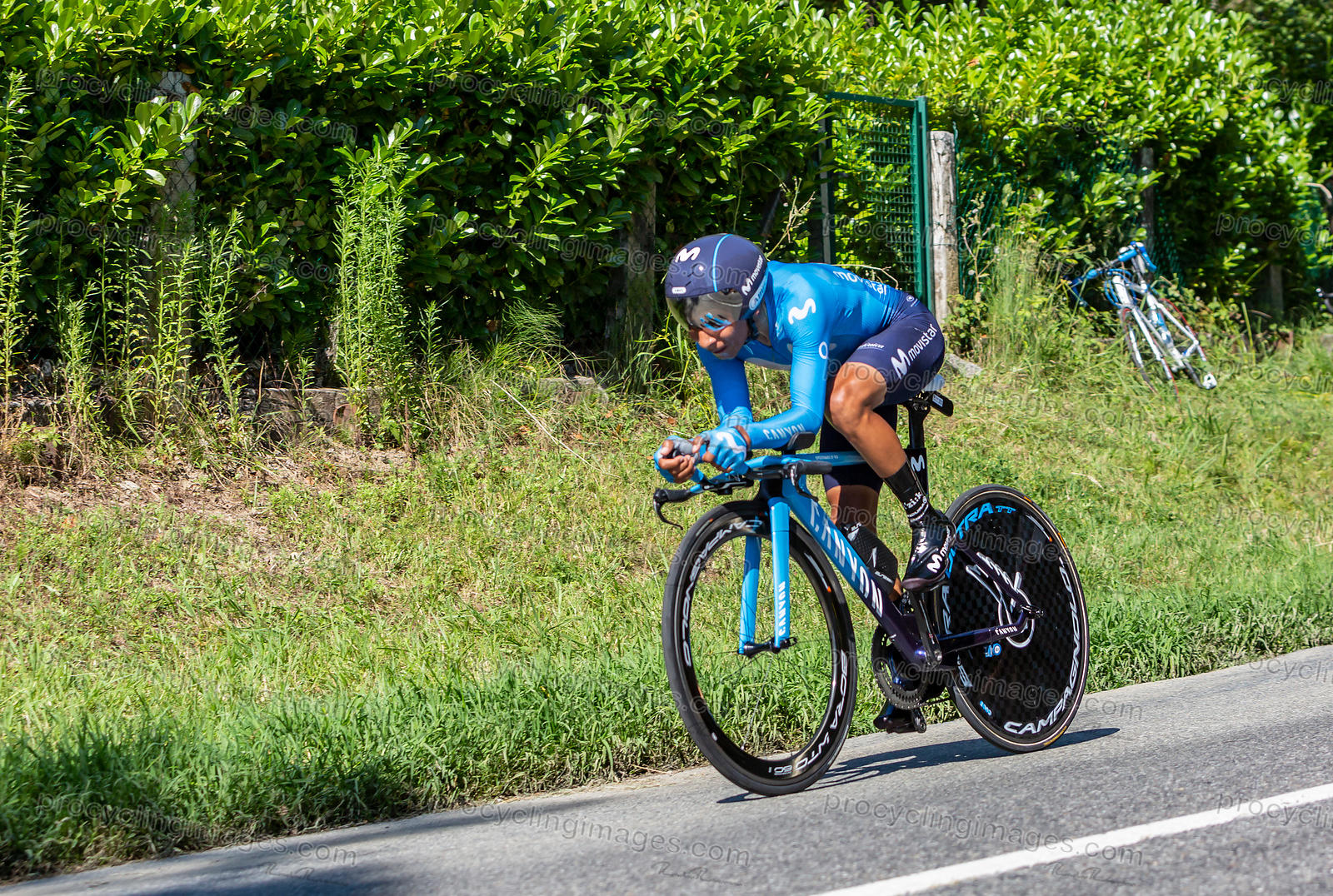 The Cyclist Nairo Quintana - Tour de France 2019