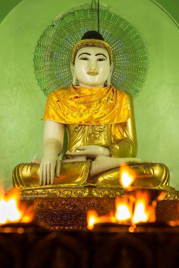 Buddha and Flames