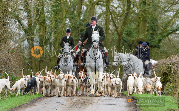 The Beaufort Hunt visits The Quorn 13/1
