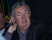 Nick Mason, drummer of the group Pink Floyd at the press conference for The Pink Floyd Exhibition - Their Mortal Remains, Rom...