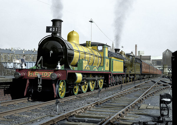 PRESERVED SCOTTISH REGION STEAM LOCOS RESTORED IN 1950s