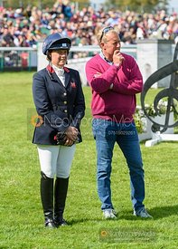 Pippa Funnell - Mark Todd Retirement presentation - Land Rover Burghley Horse Trials 2019