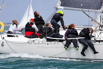 Irish Sailing Pathfinder Women at the Helm 2019