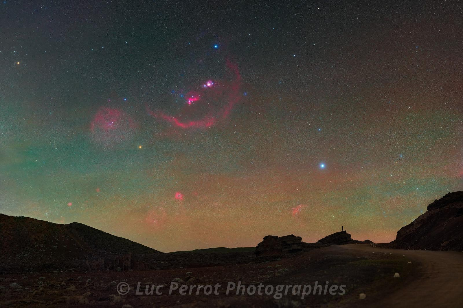 Orion a la Plaine des Sables