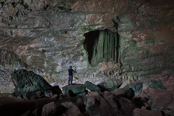 The Green Cave