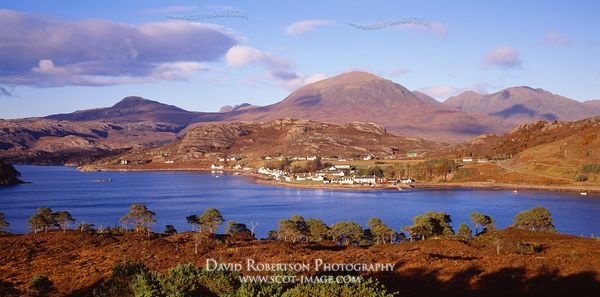 Image - Shieldaig Panoramic, Wester Ross, Scotland