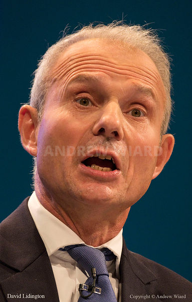 England, UK . 3.10.2017. Manchester . Conservative Party Conference, Tuesday. David Lidington.