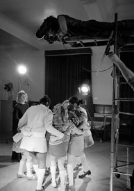 #74760,  Anna Scher Children's Theatre, North London 1972.  Kids would come after school and be expected to work hard.  Occas...