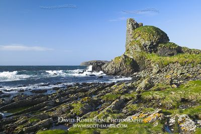 Image - Dunivaig Castle, Lagavulin, Isle of Islay, Scotland