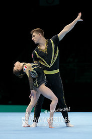 WCH Mixed Pair Qualification France - Dynamic