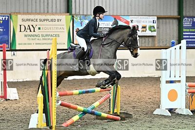 Unaffiliated showjumping. Stapleford Abbotts. United Kingdom MANDATORY Credit Garry Bowden/Sport in Pictures - NO UNAUTHORISE...