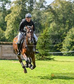 Jesse Campbell and SHADOW SISTER - Cornbury House Horse Trials 2020