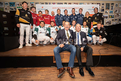 SnowPolo World Cup 2020 - St. Moritz - Players Presentation