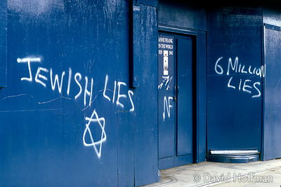 Anti semitic graffiti