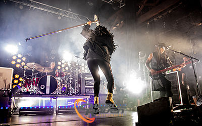 Skunk Anansie performing in Bournemouth