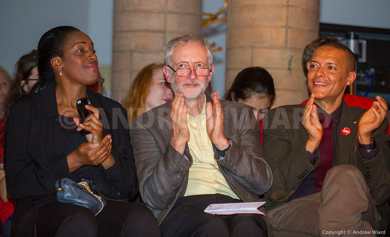 England, UK . 10.9.2015. London. Jeremy Corbyn at final campaign rally on the eve of his election as Leader of the Labour Par...