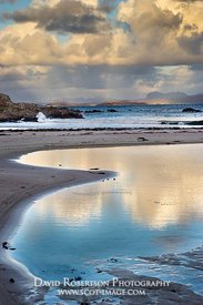 Image - View towards Assynt and Suilven from Mellon Udrigle beach, Wester Ross, Highland, Scotland