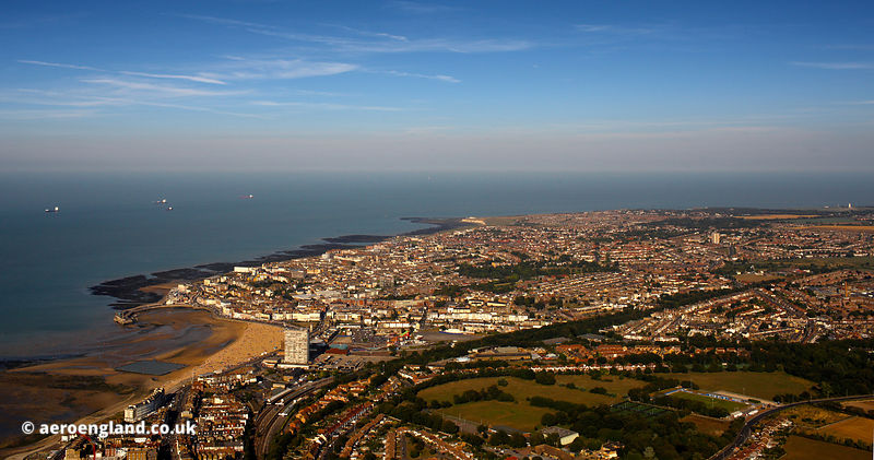 Margate  aerial photograph
