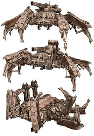 Spder Mech Weapon
