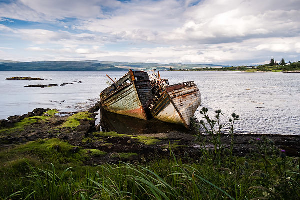 Shipwrecks, Isle of Mull