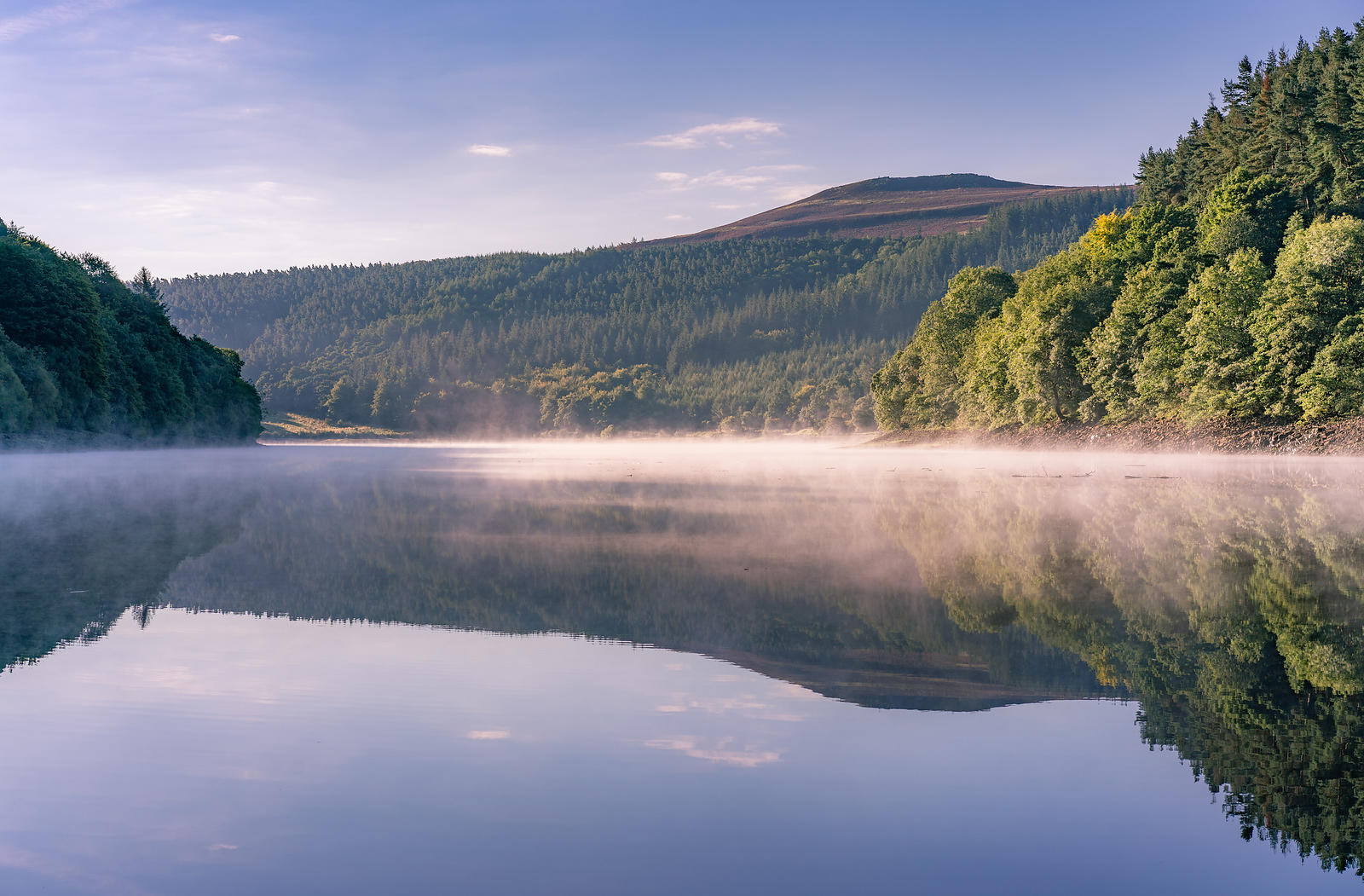 Ladybower in the mist