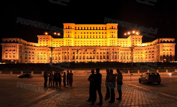 The Palace of the Parliament-Bucharest, Romania
