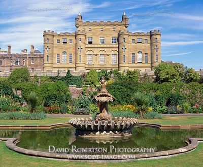Image - Culzean Castle and fountain, South Ayrshire, Scotland